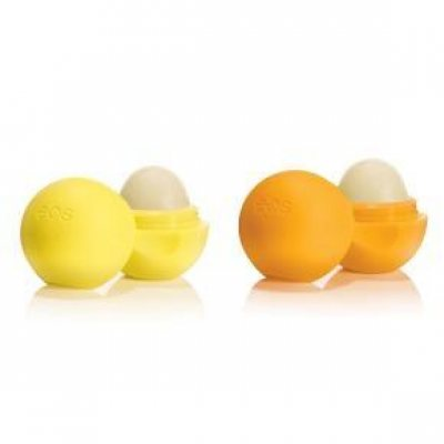 eos 2-pack Lip Balm Medicated Tangerine & Lemon Drop 7g