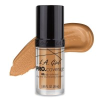L.A. Girl Pro Coverage HD Illuminating Liquid  Foundation Nude Beige 28ml