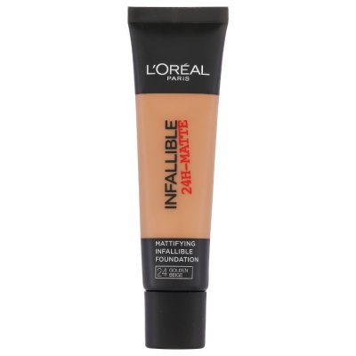 L'Oreal Infallible 24H Matte Foundation 24 Golden Beige 35ml