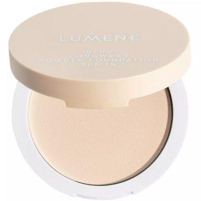 Lumene Longwear Blur Powder Foundation 1 Classic Beige SPF15 10g