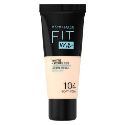 Maybelline Fit Me Matte + Poreless Foundation 104 Soft Ivory