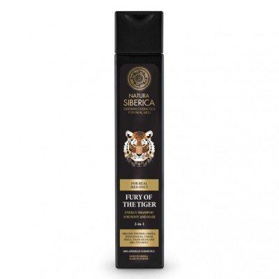Natura Siberica Fury Of The Tiger Shampoo 250ml