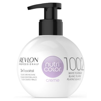 Revlon Nutri Color Creme 1002 White Platinum 270ml